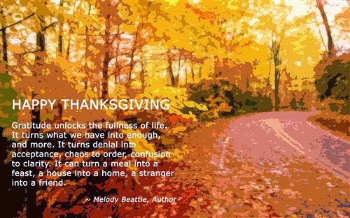 Thanksgiving from InFocus