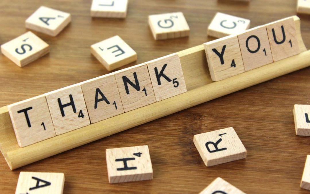 Lesson #10 – Thank your Mentors