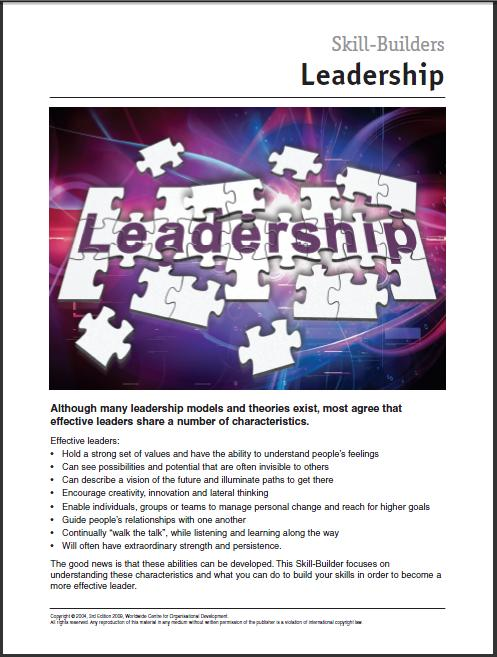 #5 Develop Your Leadership Effectiveness – EVALUATE