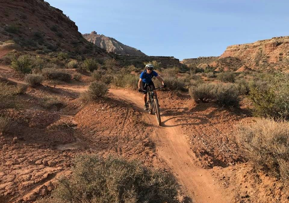 What does mountain biking have to do with disciplemaking?
